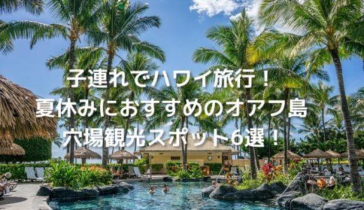 子連れでハワイ旅行!夏休みにおすすめのオアフ島穴場観光スポット6選!